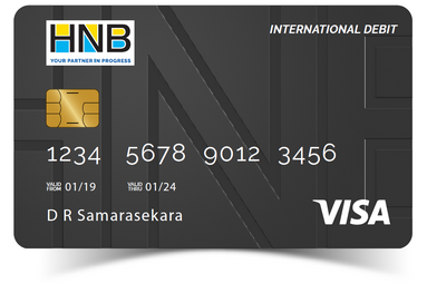International Debit Card | Visa Debit Card by HNB Sri Lanka